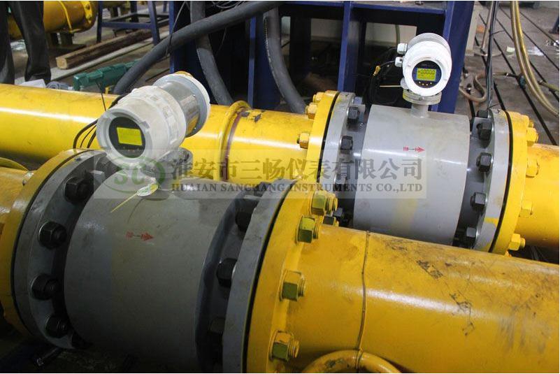 大口径污水处理管道电磁流量计