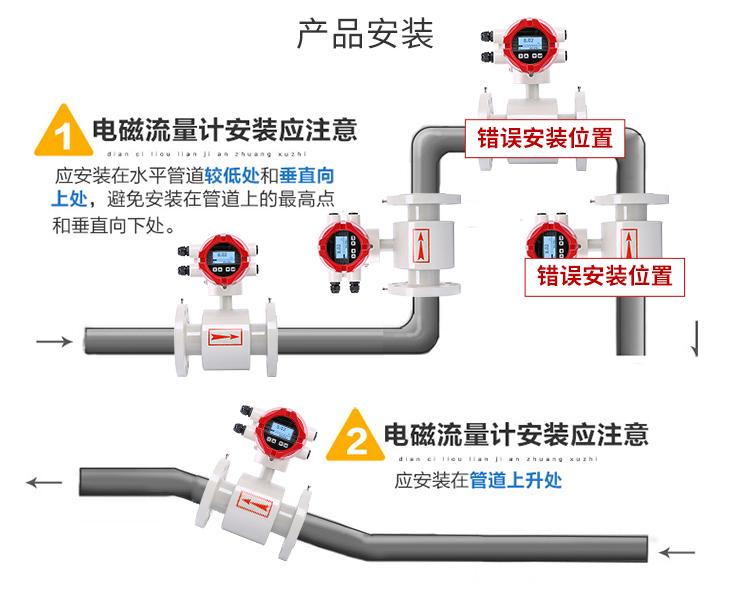 电磁流量计选型的一般原则