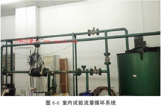 电磁流量计传感器井下测量的流量试验数据分析