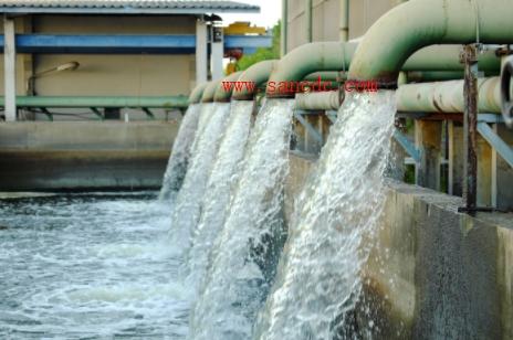 使用流量计对流经废水分配系统的水量进行精确而连续的测量