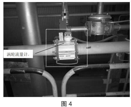 涡轮流量计安装外观图