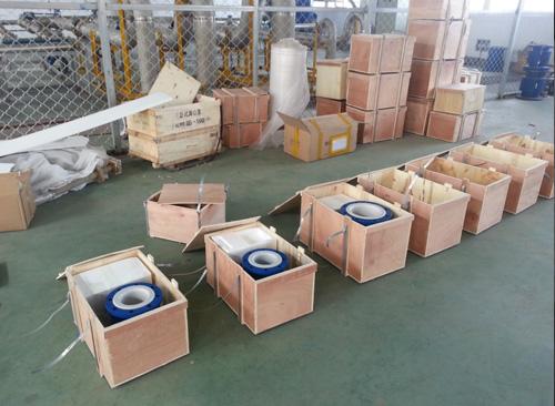 电磁流量计包装区